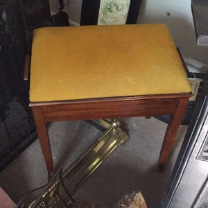 Piano stool from ARD Heritage in Quarry Bank near Merry Hill Dudley West Midlands