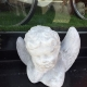 Cherub statue from ARD Heritage in Quarry Bank near Merry Hill Dudley West Midlands