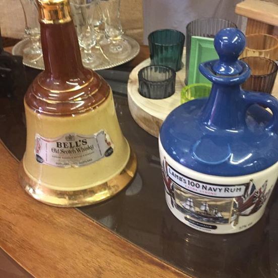 Bells ceramic decanter from ARD Heritage in Quarry Bank near Merry Hill Dudley West Midlands