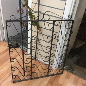 Decorative metal gate from ARD Heritage in Quarry Bank near Merry Hill Dudley West Midlands