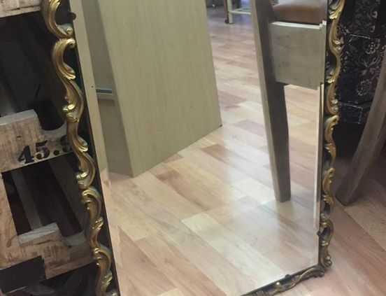 Gold Mirror from ARD Heritage in Quarry Bank near Merry Hill Dudley West Midlands