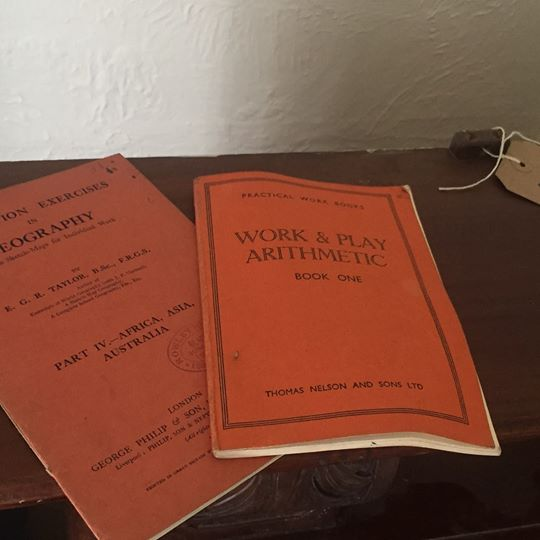 Old work books from ARD Heritage in Quarry Bank near Merry Hill Dudley West Midlands
